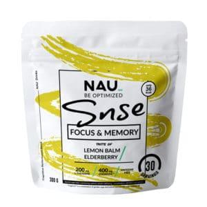 Lemon balm/elderberry nau bag