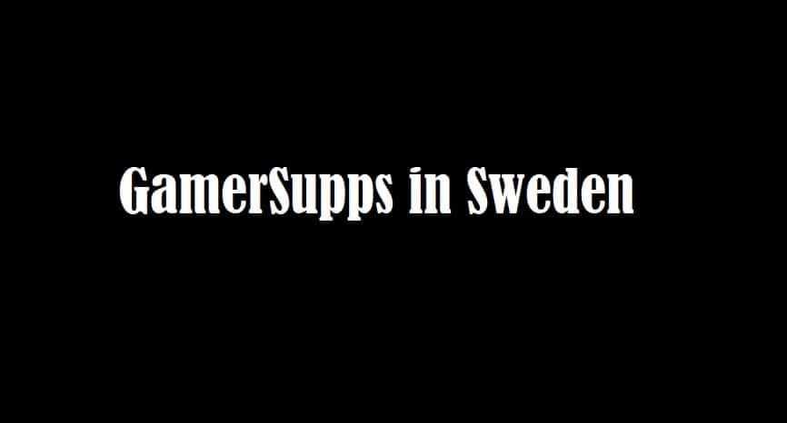 gamersupps sweden
