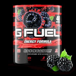 gfuel black on blackberry