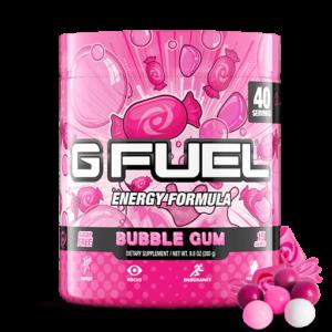 gfuel bubble gum flavor