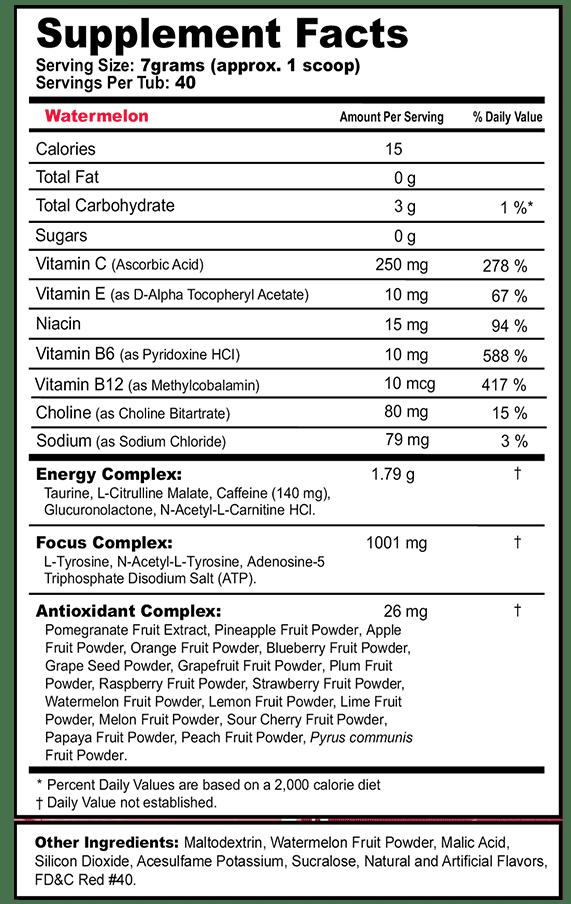 Gfuel Watermelon label