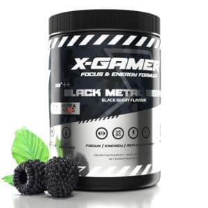 x-gamer Black Metal Berry
