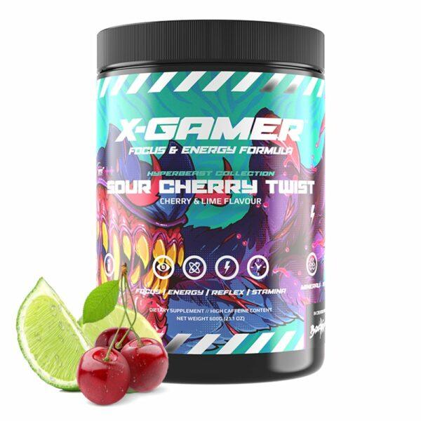 x-gamer sour cherry twist